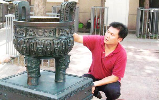子承父业,青铜技艺的传承,匠人精神的传承
