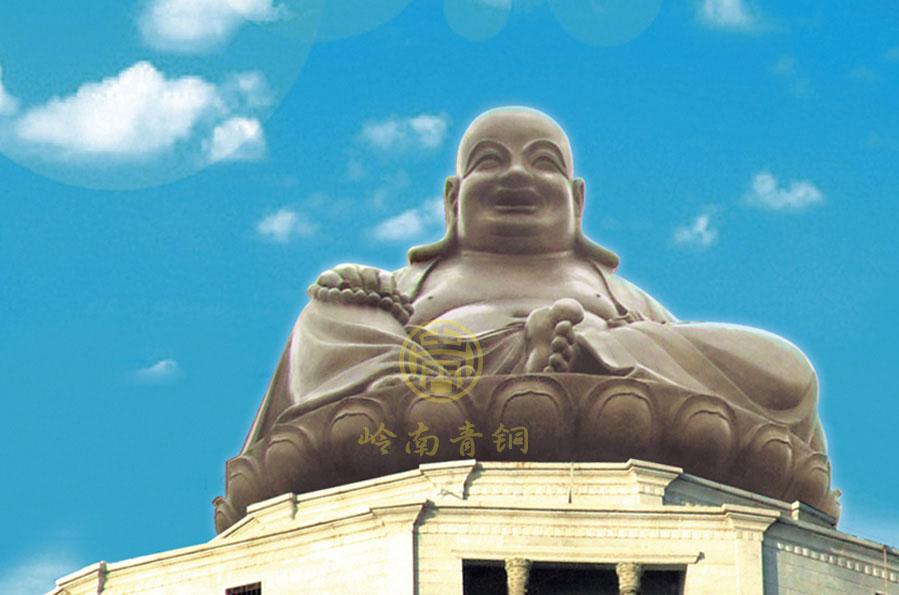 福建龙岩弥勒佛巨型佛像(20.8米)
