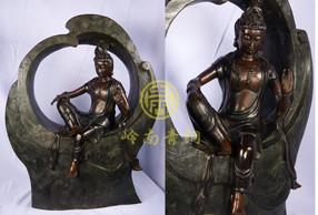 青铜工艺品-观自在菩萨