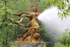 梅州飞天观音巨型佛像(8米)