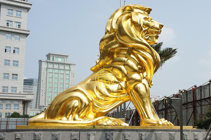 南宁铜狮子工程