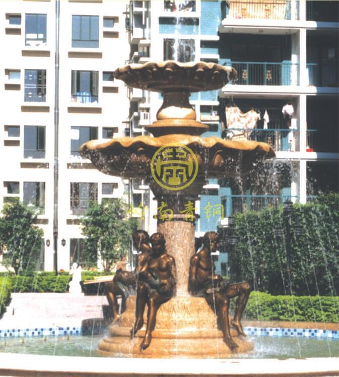 房地产《喷水池》铜雕塑工程