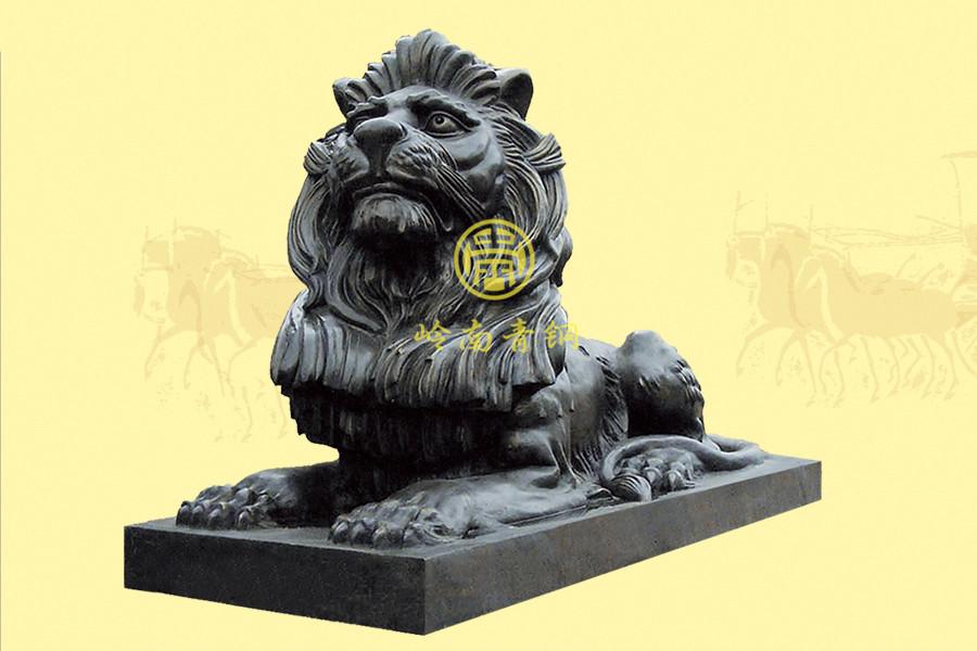 多种尺寸款式铜狮子