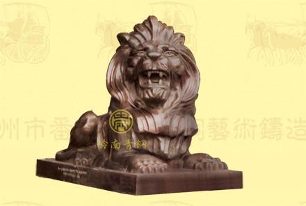汇丰铜狮子(2号)长1.88米,宽0.88米,高1.32米