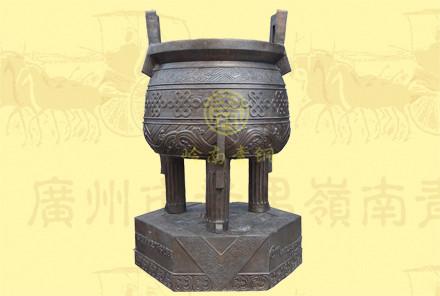 铜圆鼎5(口径0.55米,高0.825米)