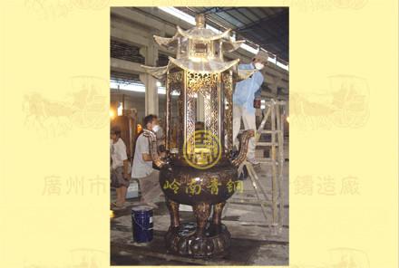 双层盖圆香炉2
