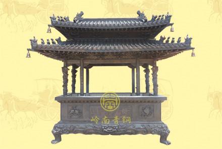 (精品)双层盖长方香炉5高3.3米,宽1.3米,长2.8米