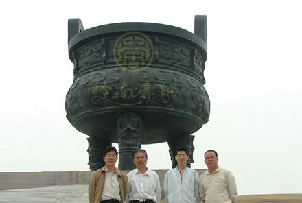 《九龙宝鼎》大型铜鼎工程-中山阜沙政府
