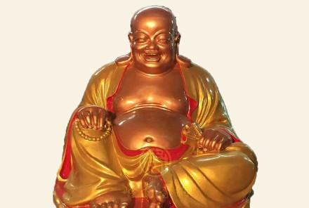 湖南衡阳观音像、弥勒佛像