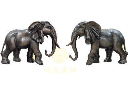 现货:铜象3(长1.5m、宽1m、高1.2m)