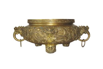 现货:铜香炉1(口径40cm,高28cm)