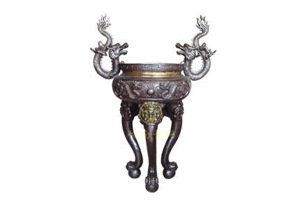 现货:圆香炉3(高0.93米,口径0.55米)