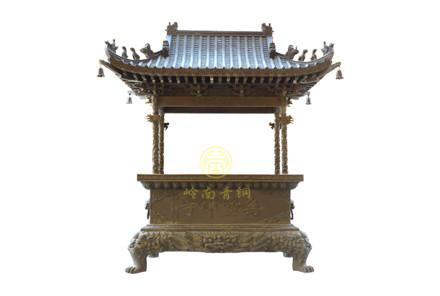 现货:单层盖长方香炉(高2.6米,长2米,宽1米)