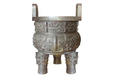 现货:铜鼎4(口径69cm,高101cm)