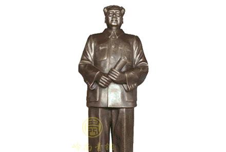 现货:毛泽东铜像(A高1.4米;B高0.9米)