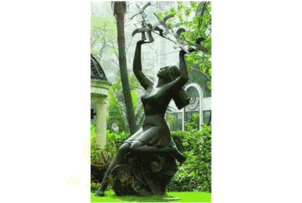 现货:少女雕塑(真人等比高)