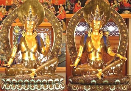 藏传佛教铜佛像