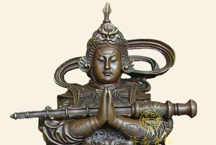 韦陀菩萨铜佛像