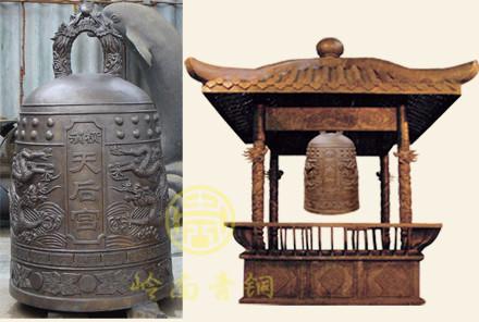 日本横滨天后宫铜钟