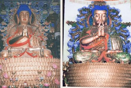 英德万寿寺釋迦牟尼铜佛像(高9.9米)