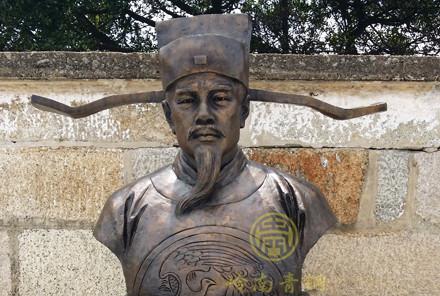 【古代廉洁人物铜像】-开平廉政基地