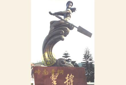 《水兵的摇篮》【人物铜像】-湛江海军基地