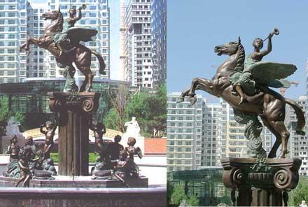 富力地产集团园林雕塑工程