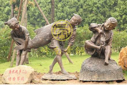 小孩/儿童雕塑