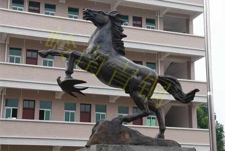 动物雕塑-铜马雕塑