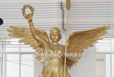 天使女神铜像(高8米)现货