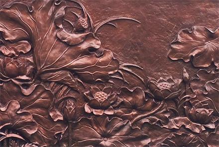 清远铜浮雕