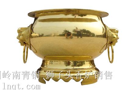 狮子头圆香炉现货(6寸-24寸)