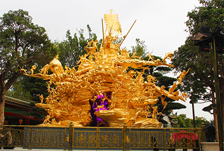 宝墨园《灵猴献寿》大型园林铜雕塑